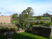 Pudding Pie Barn, Wigley, Nr. Baslow, Derbyshire -  View from Back of Cottage